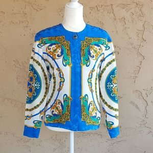 Vintage - Adrianne Papell Italian Silk Blouse